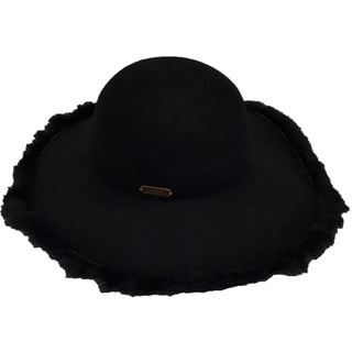 Hatch Hats Fur Packable Wide Brim 100-percent Wool Felt Floppy Hat