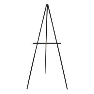 Offex Black Metal Jumbo Adjustable-height Studio Display Easel