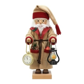 Alexander Taron Father Time Christian Ulbricht Wood Nutcracker