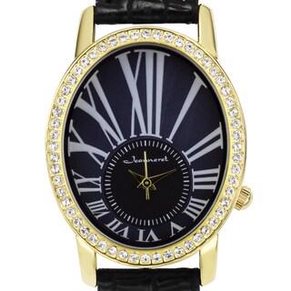 Jeanneret Nightingale Ladies Watch Swarovski Elements Crystal-Embellished Bezel