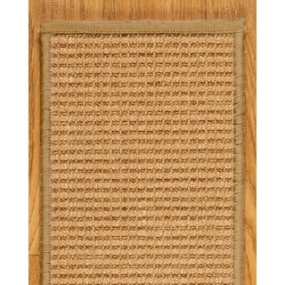 "Handcrafted Somerset Sisal Stair Treads 9"" x 29"" Serged Border (Set of 13)"