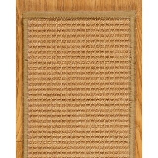 """Handcrafted Somerset Sisal Stair Treads Serged Border (Set of 13) - 9""""x 29"""""""