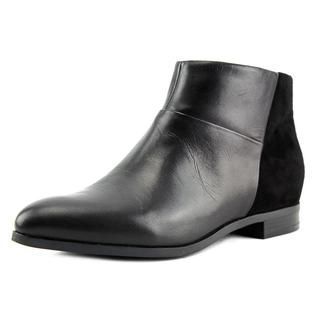 Nine West Women's Oralieo Black Leather Boots