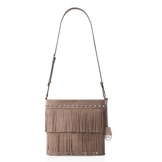 Michael Kors Medium Billy Suede Convertible Shoulder Bag