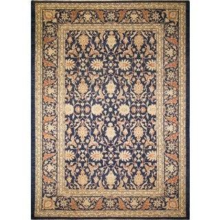 Peshawar Agila Blue/ Blue Rug (10'3 x 14'3)