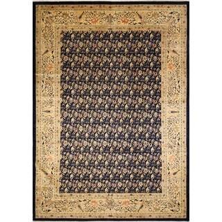 Peshawar Jumagul Blue/ Gold Rug (9'10 x 13'6)