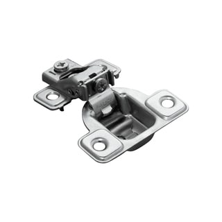 Salice 106-Degree 1/2-inch Overlay Excenthree Face Frame Hinge With 3 Cam Adjustment