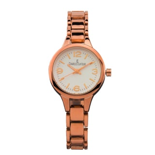 Charles Latour Aura ladies' casual watch, textured dial, fashion bracelet