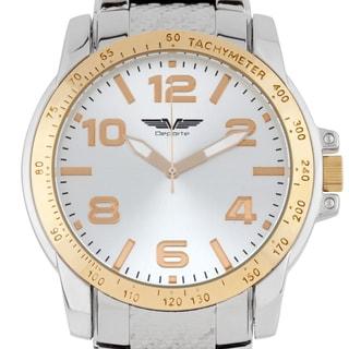 Deporte Infineon Men's sport watch, sunray dial, textured bracelet