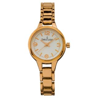 Charles Latour Aura ladies' casual watch, textured dial, fashion bracelet|https://ak1.ostkcdn.com/images/products/13447170/P20137493.jpg?impolicy=medium