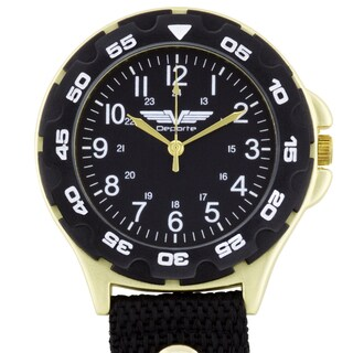 Deporte Clip On Military Dial Layout Men's Watch