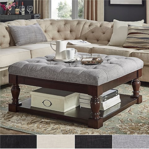 Coffee Table Ottoman.Buy Farmhouse Ottomans Storage Ottomans Online At Overstock Our