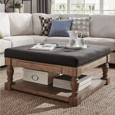 Buy Black Rustic Ottomans Storage Ottomans Online At Overstock