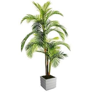 Laura Ashley 90-inch Palm Tree in Fiberstone Pot