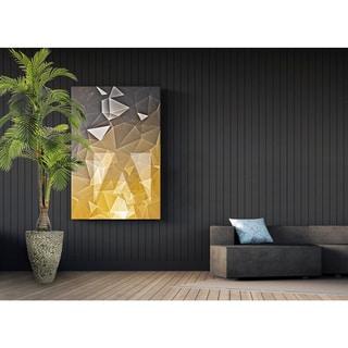 Artificial 97.5-inch Tall Palm Tree in Fiberstone Pot