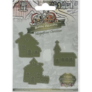 Find It Trading Yvonne Creations Magnificent Christmas Die-Little Village