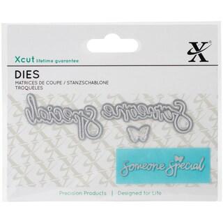 Xcut Mini Decorative Dies 3/Pkg-Someone Special Sentiment