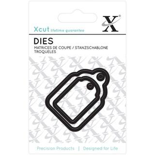 Xcut Mini Decorative Dies 2/Pkg-Gift Tags