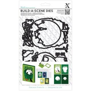 Xcut Build-A-Scene Dies 9/Pkg-Shadow Box Countryside