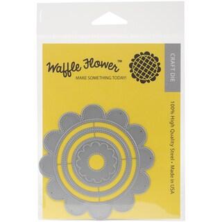 Waffle Flower Die-Flower Circles