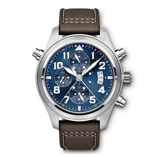 IWC Pilots IW371807 Men's Blue Dial Watch