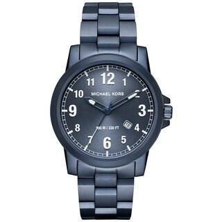 Michael Kors Men's MK8533 Paxton Blue Dial Blue Stainless Steel Bracelet Watch