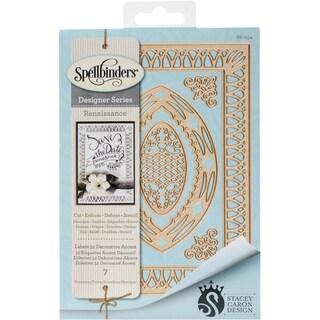 Spellbinders Nestabilities Dies-Labels 52 Decorative Accent