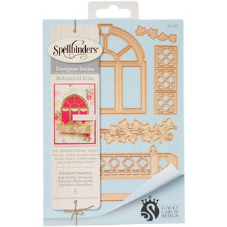 Spellbinders Shapeabilities Dies-Decorative Flower Box