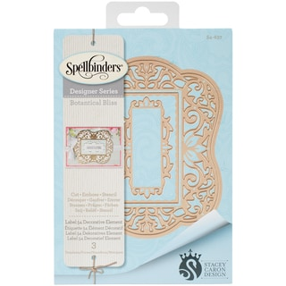 Spellbinders Nestabilities Decorative Elements Dies-Label 54