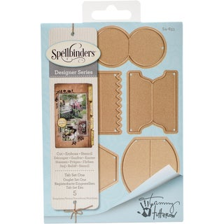 Spellbinders Shapeabilities Dies-Tab Set 1