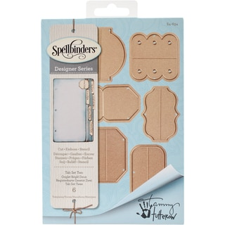 Spellbinders Shapeabilities Dies-Tab Set 2