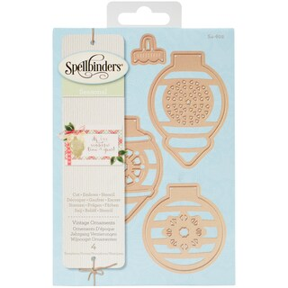 Spellbinders Shapeabilities Dies-Vintage Ornaments