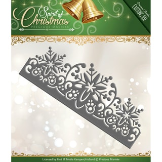 Find It Trading Precious Marieke Die-Snowflake Border
