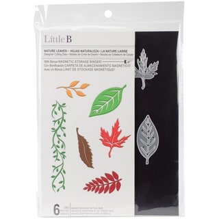 Little B Cutting Die-Nature Leaves