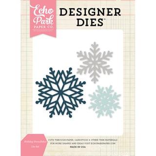 Echo Park Dies-Holiday Snowflakes