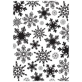 "Kaisercraft Embossing Folder 4""X6""-Snowflakes"