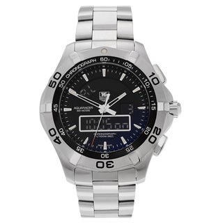 Tag Heuer Men's Aquaracer CAF1010.BA0821 Stainless Steel Chronotimer Bracelet Watch