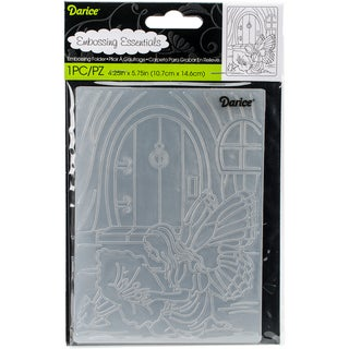 "Embossing Folder 4.25""X5.75""-Fairy Door"