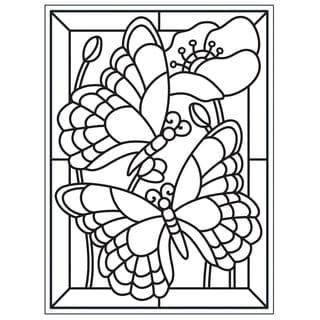 "Embossing Folder 4.25""X5.75""-Mosaic Butterfly"
