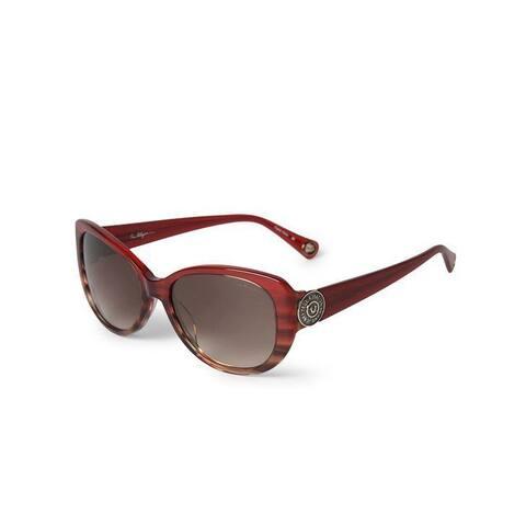 True Religion Sionan Autumn Garnet/ Honey Plastic Unisex Sunglasses