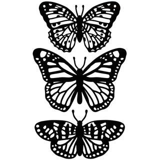 """Embossing Folder 4.25""""X5.75""""-Butterfly Trio"""