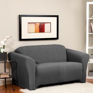 Diamond Weave Blend Stretch Sofa Slipcover