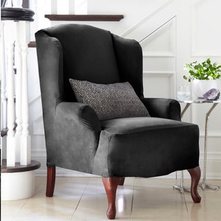 Harlow Stretch Wing Chair Slipcover