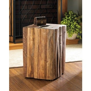 Azuro Natural Wooden Accent Table