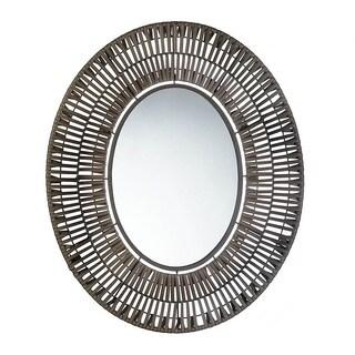 Alita Decorative Oval Wall Mirror