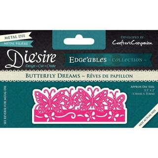 Die'sire Edge'ables Cutting & Embossing Die-Butterfly Dreams