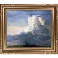 Thomas Cole 'Clouds, 1838' Hand Painted Framed Oil Reproduction
