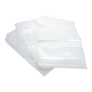 Reloc Zippit Clear Polyethylene 8-inch x 10-inch 4-mil Reclosable Zip Bag (Case of 100)