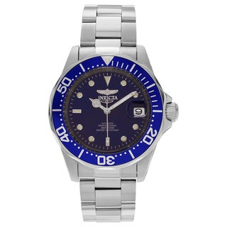 Invicta Men's 9094 Pro Diver Stainless Steel Blue Dial Link Bracelet Watch