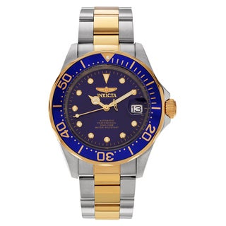 Invicta Men's 17042 Pro Diver Automatic 3 Hand Blue Dial Watch